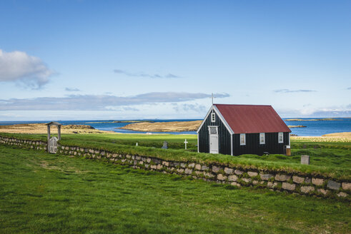 Iceland, Snaefellsnes, Church Bjarnarhoefn - KEBF00884