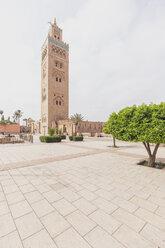 Morocco, Marrakesh, view to Koutoubia mosque - MMAF00488