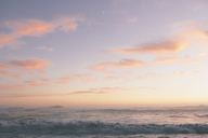 Seascape with cloudy sky at sunset. - MINF08908