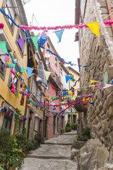 Portugal, Porto, decorated alley - CHPF00496