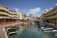 Spain, Andalusia, Costa del Sol, Benalmadena, harbour - WIF03588