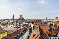 Germany, Bavaria, Munich, City Center and Cathedral of Our Lady - THAF02241