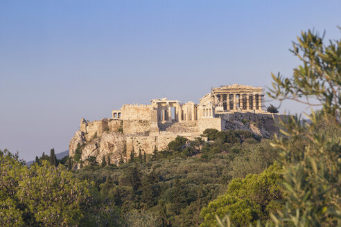Greece, Athens, View of the Acropolis from Pnyx - MAMF00215