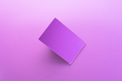 Rectangle shaped mirror over pink background - DRBF00075