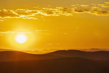 Africa, Namibia, Namib desert, Naukluft National Park, sand dunes at sunrise - FOF10085