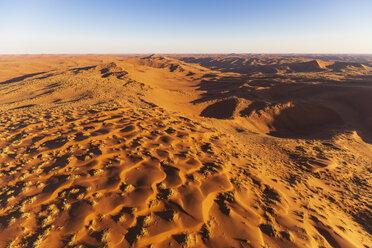 Africa, Namibia, Namib desert, Namib-Naukluft National Park, Aerial view of desert dunes - FOF10133
