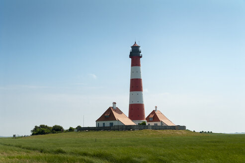 Germany, Schleswig-Holstein, Westerhever, Westerheversand Lighthouse - UMF00861