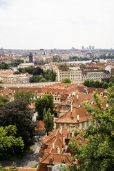 Czechia, Prague, view to the city from Hradcany - GEMF02319