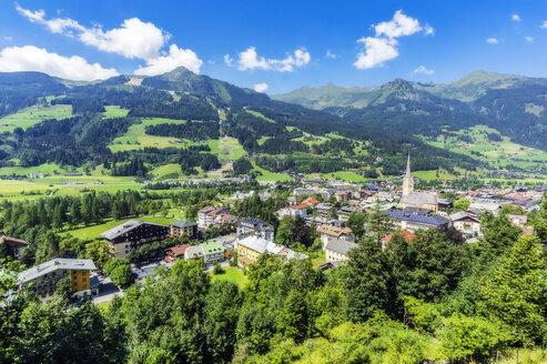 Austria, Salzburg State, Bad Hofgastein, village view - THAF02247