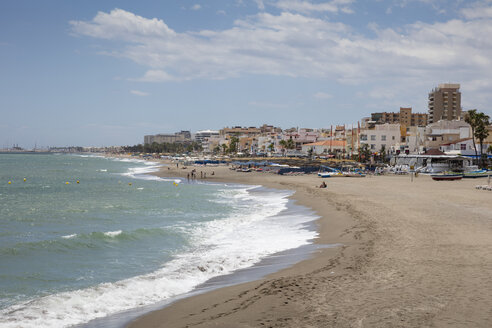 Spain, Andalusia, Costa del Sol, Torremolinos, beach - WIF03589
