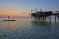 Italy, Abruzzo, San Vito Chietino, Trabocchi coast, - LOMF00739