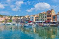 France, Provence-Alpes-Cote d'Azur, Bouches-du-Rhone, Cassis, Harbour - FRF00716