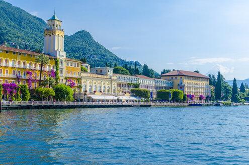 Italy, Lombardy, Gardone Riviera, Lake Garda, Grandhotel - MHF00456