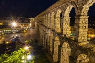 Spain, Castile and Leon, Segovia, Aqueduct - JSMF00433
