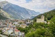 Austria, Tyrol, Landeck with Landeck Castle - AIF00558