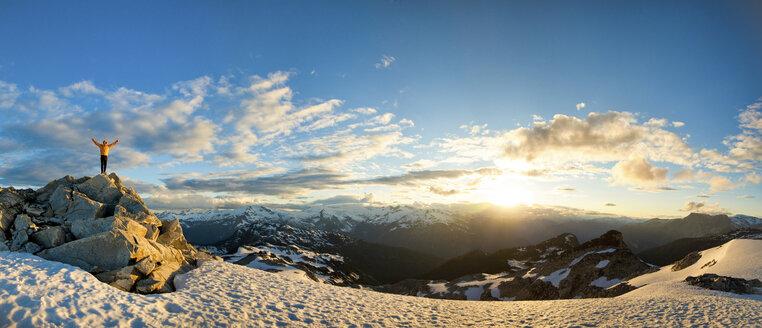 Climbing Cypress Peak - AURF02169