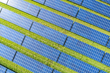 Aerial view of photovoltaic plant - MAEF12717