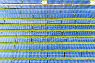 Aerial view of photovoltaic plant - MAEF12720
