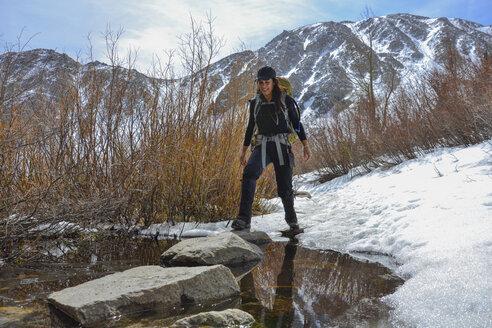 The Palisades Range, Sierra Nevada, California - AURF02284