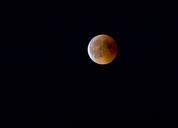 Germany, Rosenheim, lunar eclipse - ZCF00649