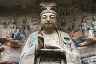 China, Sichuan Province, Dazu Rock Carvings - KKAF01463