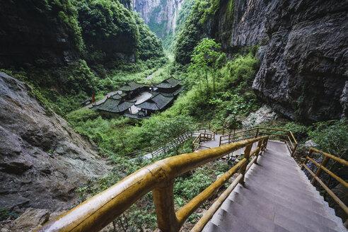 China, Sichuan Province, Wulong Karst National Geology Park - KKAF01475