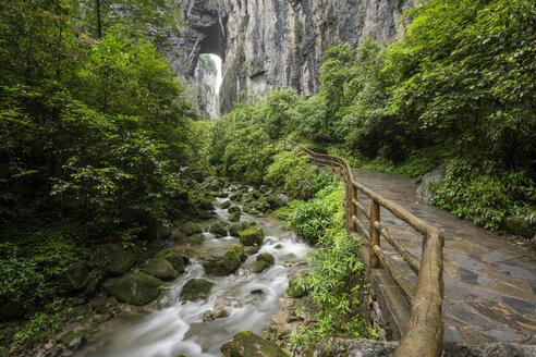 China, Sichuan Province, Wulong Karst National Geology Park - KKAF01478
