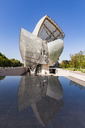 France, Paris, Bois de Boulogne, Fondation Louis Vuitton, Art Museum, Architect Frank Gehry - WD04818