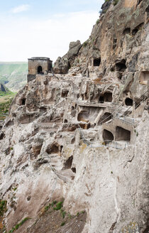 Georgia, Samtskhe-Javakheti, Cave city Vardzia - WWF04389