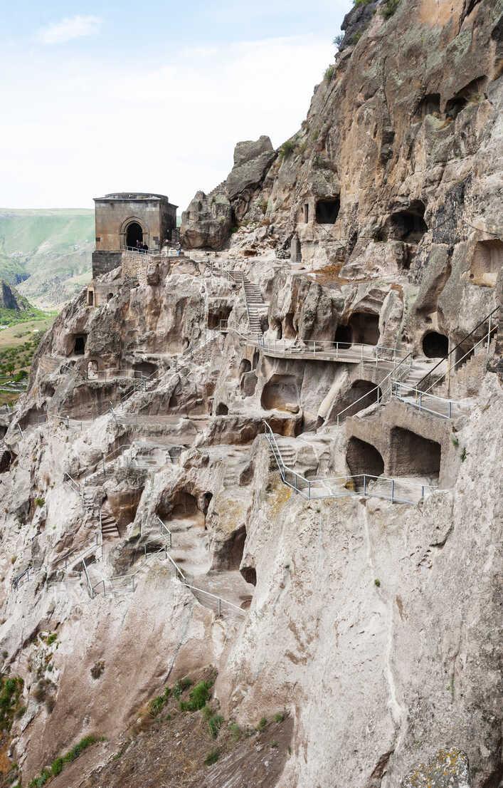 Georgia, Samtskhe-Javakheti, Cave city Vardzia - WWF04389 - Wolfgang Weinhäupl/Westend61