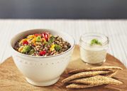 Quinoa salad with various vegetables - RAMAF00108