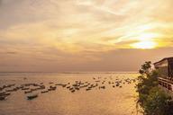 Indonesia, Bali, sunset over the sea - MMAF00545