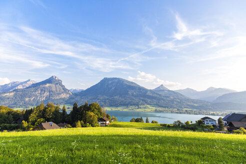 Austria, Salzburg State, Salzkammergut, St. Wolfgang at Lake Wolfgangsee - JUNF01152