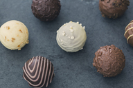 Various chocolate truffles - JUNF01162