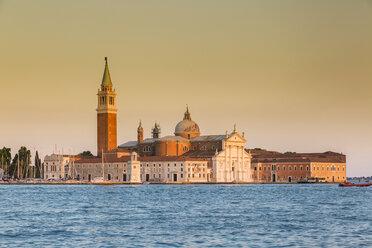 Italy, Venice, San Giorgio Maggiore in the evening light - JUNF01199