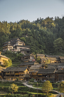 China, Guizhou, Miao settlement - KKAF01641
