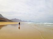 Spain, Canaray Islands, Fuerteventura, Jandia, beach of Barlovento - WWF04397