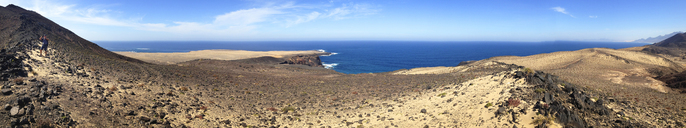 Spain, Canaray Islands, Fuerteventura, Jandia, coastal landscape - WWF04412