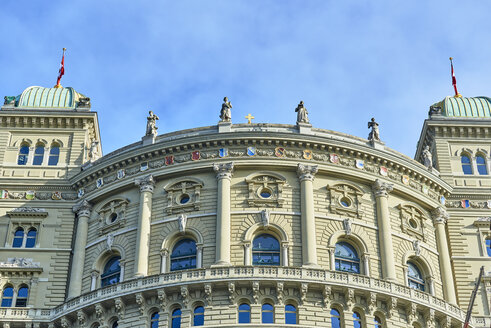 Switzerland, Bern, Federal Palace, south facade - JEDF00323