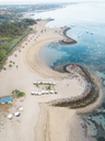 Indonesia, Bali, Aerial view of Nusa Dua beach - KNTF01299