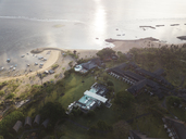Indonesia, Bali, Aerial view of Nusa Dua beach - KNTF01302