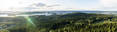 Finland, Kuopio, View from Puijo Tower - KKAF01732