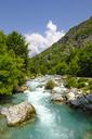 Albania, Kukes County, Albanian Alps, Valbona National Park, Valbona Valley, Valbona river - SIEF08024