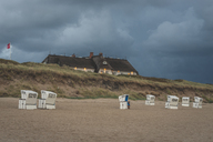 Germany, Schleswig-Holstein, Sylt, Rantum, house on West beach - KEBF00933