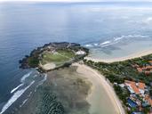 Indonesia, Bali, Aerial view of Nusa Dua beach - KNTF01338