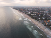 Indonesia, Bali, Aerial view of Padma beach - KNTF01378
