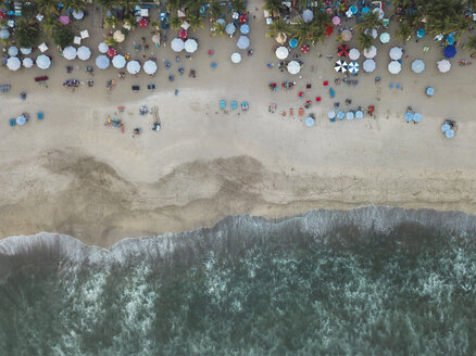 Indonesia, Bali, Aerial view of Padma beach - KNTF01390