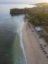 Indonesia, Bali, Aerial view of Balangan beach - KNTF01411