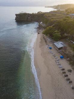 Indonesia, Bali, Aerial view of Balangan beach - KNTF01411