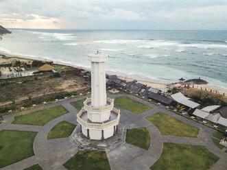 Indonesia, Bali, Aerial view of Pandawa beach - KNTF01422